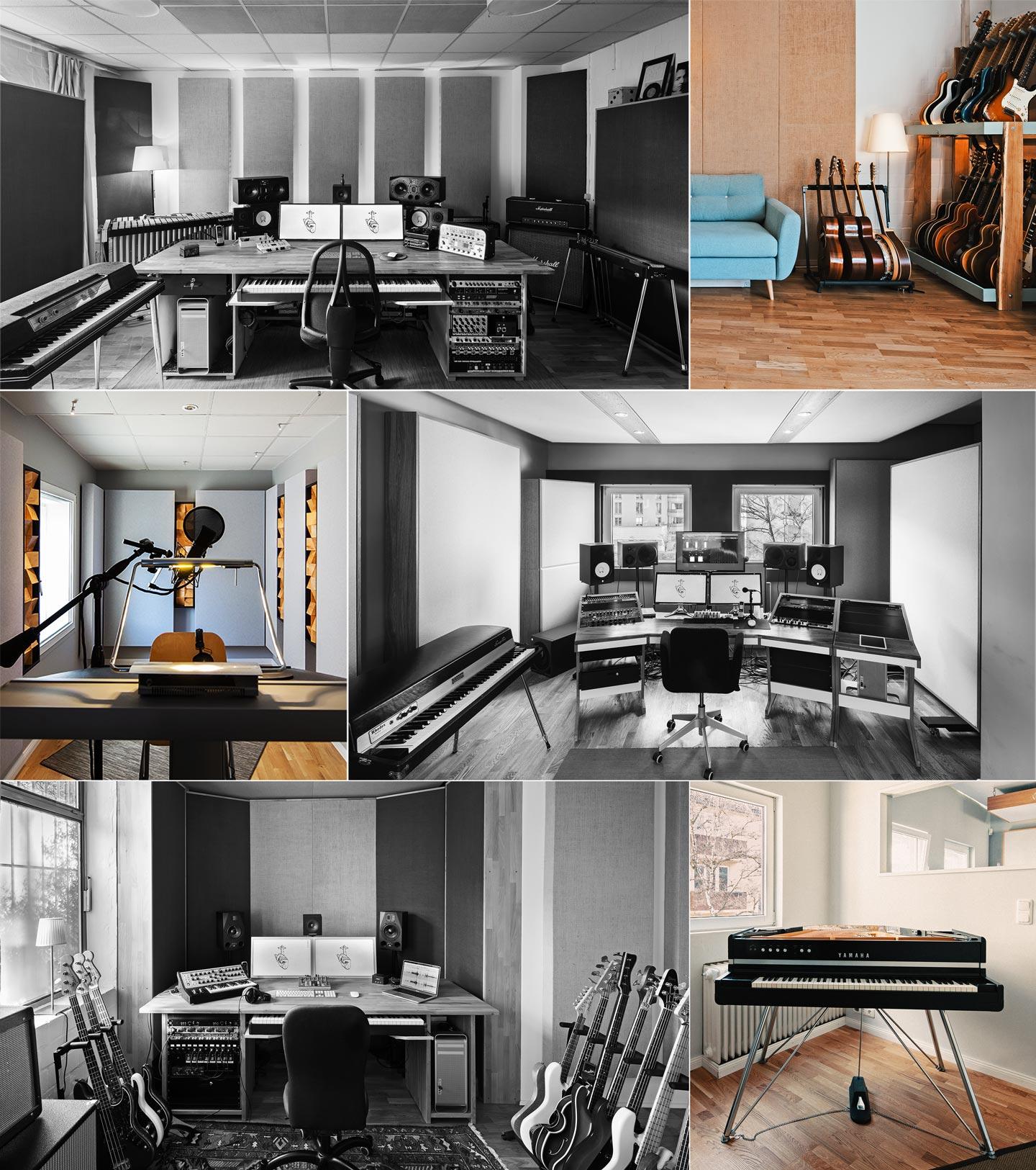 hush hush studio bilder